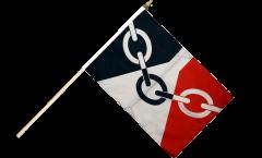 Stockflagge Großbritannien Black Country - 30 x 45 cm