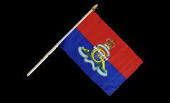 Stockflagge Großbritannien British Army Royal Artillery - 30 x 45 cm
