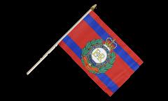 Stockflagge Großbritannien British Army Royal Engineers - 30 x 45 cm