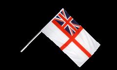 Stockflagge Großbritannien British Navy Ensign - 60 x 90 cm