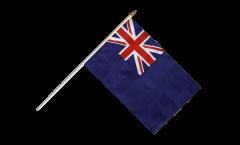Stockflagge Großbritannien Dienstflagge zur See - 30 x 45 cm