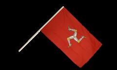 Stockflagge Großbritannien Isle of Man - 60 x 90 cm