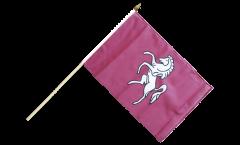 Stockflagge Großbritannien Kent - 30 x 45 cm