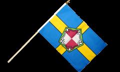 Stockflagge Großbritannien Pembrokeshire - 30 x 45 cm