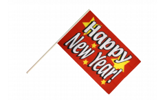 Stockflagge Happy New Year