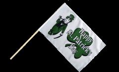Stockflagge Happy St. Patrick's Day - 60 x 90 cm