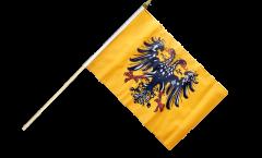 Stockflagge Heiliges Römisches Reich Deutscher Nation nach 1400 - 30 x 45 cm