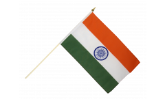 Stockflagge Indien - 30 x 45 cm
