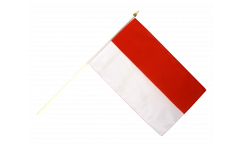Stockflagge Indonesien - 30 x 45 cm