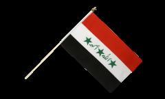 Stockflagge Irak alt 1991-2004 - 30 x 45 cm