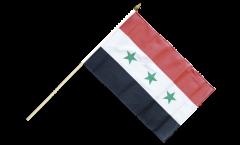Stockflagge Irak ohne Schrift 1963-1991