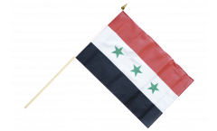 Stockflagge Irak ohne Schrift 1963-1991 - 30 x 45 cm