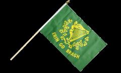 Stockflagge Irland Erin Go Bragh