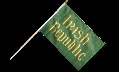 Stockflagge Irland Irish Republic Osteraufstand 1916