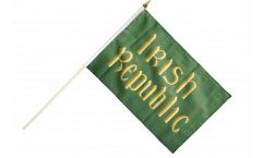 Stockflagge Irland Irish Republic Osteraufstand 1916 - 30 x 45 cm