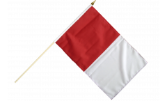 Stockflagge Irland Westmeath - 30 x 45 cm