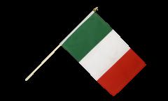Stockflagge Italien - 30 x 45 cm