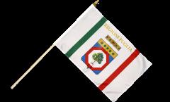 Stockflagge Italien Apulien - 30 x 45 cm