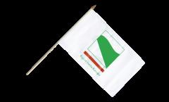 Stockflagge Italien Emilia Romagna - 30 x 45 cm