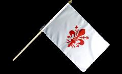 Stockflagge Italien Florenz - 30 x 45 cm