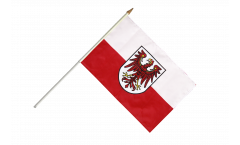 Stockflagge Italien Südtirol - 30 x 45 cm