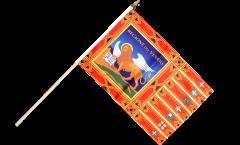 Stockflagge Italien Venetien Venezien - 30 x 45 cm