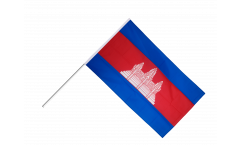 Stockflagge Kambodscha - 60 x 90 cm