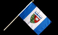 Stockflagge Kanada Nordwestterritorium - 30 x 45 cm