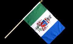 Stockflagge Kanada Yukon - 30 x 45 cm