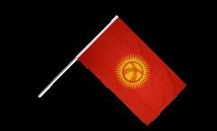Stockflagge Kirgisistan Kirgistan - 60 x 90 cm