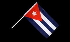 Stockflagge Kuba - 60 x 90 cm