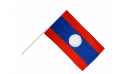 Stockflagge Laos