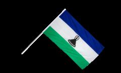 Stockflagge Lesotho