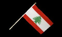 Stockflagge Libanon - 30 x 45 cm