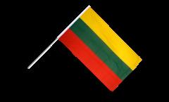 Stockflagge Litauen