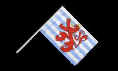 Stockflagge Luxemburg Löwe - 60 x 90 cm