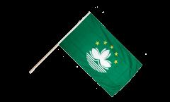 Stockflagge Macao Macau - 60 x 90 cm
