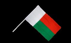 Stockflagge Madagaskar - 60 x 90 cm