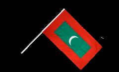 Stockflagge Malediven - 60 x 90 cm