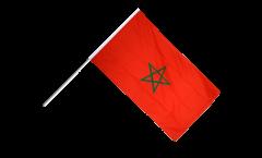 Stockflagge Marokko - 30 x 45 cm