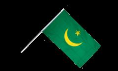 Stockflagge Mauretanien 1959-2017 - 60 x 90 cm