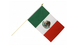 Stockflagge Mexiko