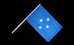 Stockflagge Mikronesien - 60 x 90 cm