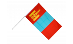 Stockflagge Mongolei - 60 x 90 cm