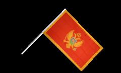 Stockflagge Montenegro - 60 x 90 cm