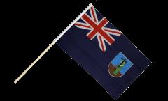 Stockflagge Montserrat - 60 x 90 cm