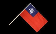 Stockflagge Myanmar alt 1974-2010 - 60 x 90 cm