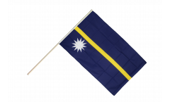 Stockflagge Nauru - 60 x 90 cm