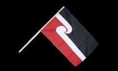 Stockflagge Neuseeland Maori