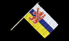 Stockflagge Niederlande Limburg - 30 x 45 cm